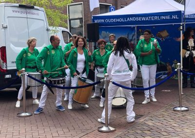 Samba Vivaz optreden Linschoten Open Monumentendagen