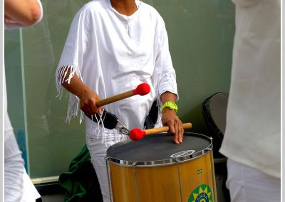 Maiby, surdospeelster bij Samba Vivaz
