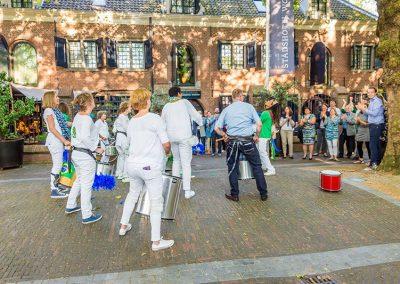 Samba Vivaz optreden Stadshotel Van Rossum te Woerden aftreden voorzitter Kon. Horecabond Ned.