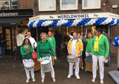 Opening Wereldwinkel te Weesp